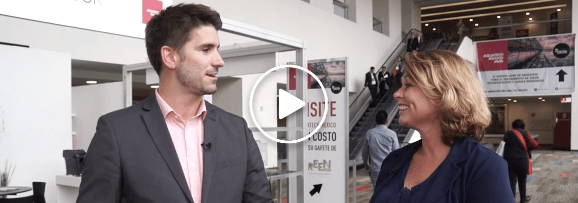 Annette Bos discusses Aquatech Mexico 2017 with Tom Freyberg