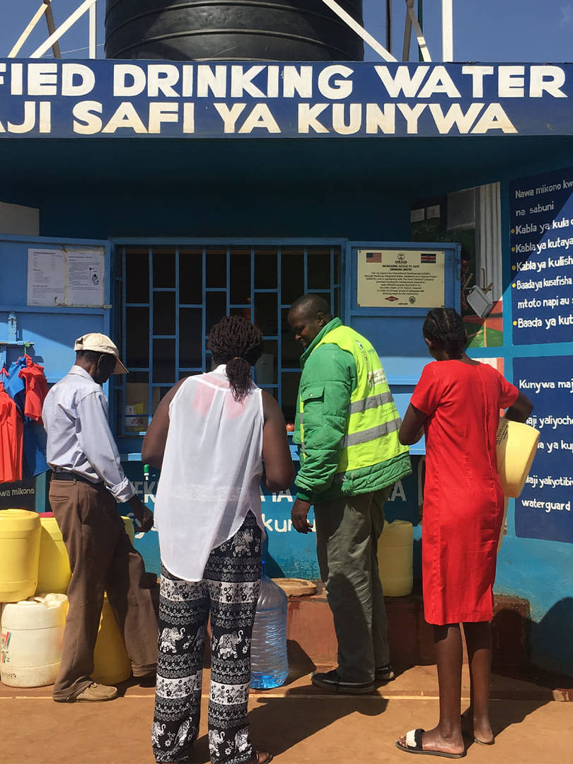 Partnership in Action: Innovative Project Brings Clean Drinking Water to Local Kenya Community