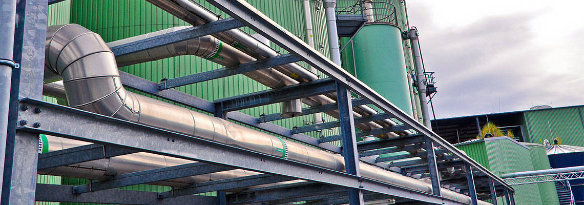 Biogas energy source to avert climate change