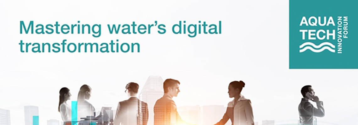 Final speakers complete Aquatech Innovation Forum line-up