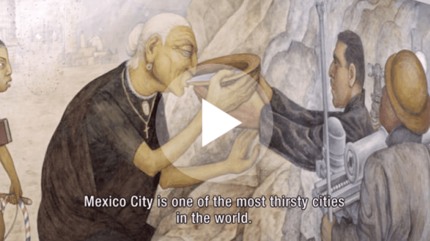 VIDEO: How Mexico City copes with water scarcity