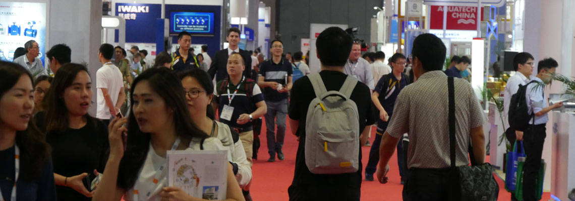 All eyes on Aquatech China 2018: Three days of water magic